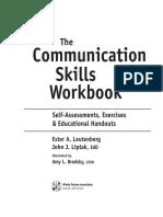 Communication Skills Work Book