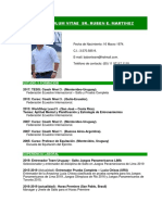Ruben Martinez Curriculum 2019