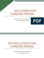 Estudo Clínico Das Funções Renais