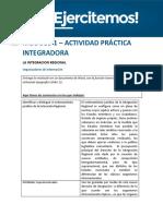 API 1 Integracion Regional