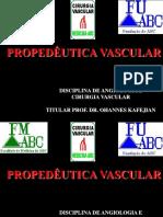 Propedêutica Vascular