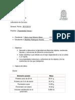Informe Quimica Propiedades Fisicas 1