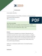 Artículo de Reflexión Sobre La Socioformación Universidad Tecnológica Indoamérica