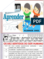 Aprender Planners 1 Os Dez Sentidos Humanos