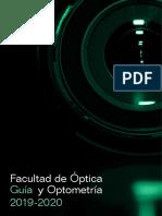 Guía de La Facultad de Óptica y Optometría UCM 2019-20