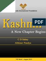 Kashmir a New Chapter Begins