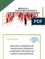 Modulo 4 - Processos relacionais e comportamento profissional