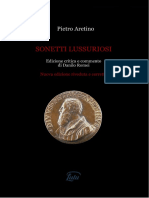 Aretino - Sonetti Lussuriosi