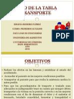 MANEJO DE LA TABLA DE TRANSPORTE Y MANEJO DEL  CUELLO ORTOPEDICO PRIMEROS AUXILIOS..pptx