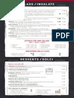 Just a menu
