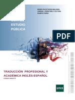 Guia Traducción Profesional y Académica UNED