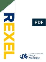 Drexel Md Program Look Book 2019
