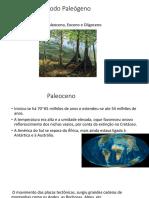 Período paleogeno