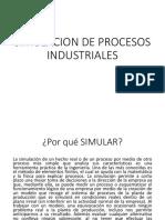 Simulacion de Procesos Industriales