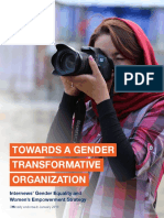 Towards a Gender Transformative Organization