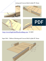 Super Sled – Tablesaw Mitering and Crosscut Sled