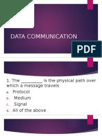 Data Communication Mcq
