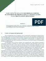 Cartas de relacion de Cortes