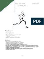 Run Walk Speed Lab