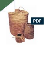 Cesteria Mapuche Cuarto Basico