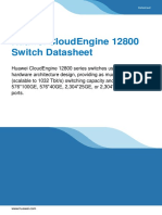 Huawei CloudEngine 12800 Series Switches Data Sheet