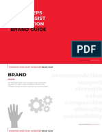 WorkSteps Work Assist Foundation Brand Guidelines