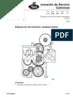 Mp8 engranes de sincronizacion