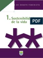 1. Sostenibilidad de La Vida Cuadernos de Debate Feminista