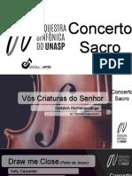 Concerto Sacro - UNASP