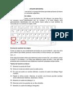 Atajos en Excel