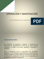 Operación y Mantención