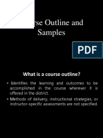 Group 7 BEED2 (Course Outline and Samples Final)