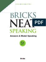 bricks neat answer booklet S1 model speaking