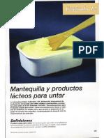 Manual de Industrias Lacteas Capitulo 13 Mantequilla y Productos Lacteos Para Untar