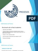 Procesos, Procedimientos y Control Organizacional