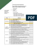 Instrumen Keterlaksanaan Penerapan Model Pembelajaran REACT