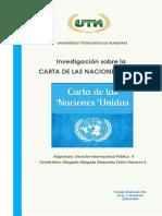 Carta de Las Naciones Unidas Dip II Jorge Alberto Barahona 256103004