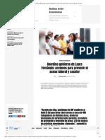 Coordina gobierno de Laura Fernández acciones para prevenir el acoso laboral y escolar