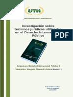 Terminos de Derecho Internacional Publico Uth Jorge Barahona
