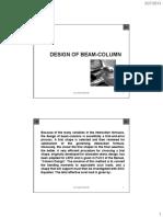 12. Design - Beam_Column