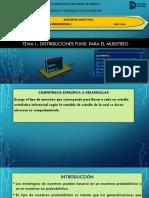 MI-3 EQUIPO #3 Distribuciones Fundamentales Para El Muestreo Tema I