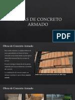 Obras de Concreto Armado