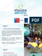 Catálogo Actividades - Interescolar Ambiental