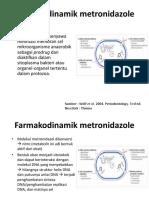 Farmakodinamik metronidazole.pptx
