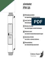FTW325 Manual Eng