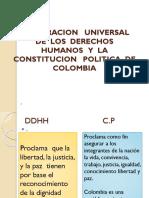 Derechos Humanos y Declaracion Universal Ch