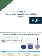 Unidad 2-Fuerzas Intermoleculares en Solidos y Liquidos