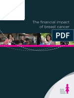 The Financial Impact of Breast Cancer
