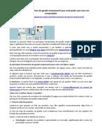 ARTIGO - CONSULTORIA - Ferramentas de Gestão Empresarial Sem o Uso de Um Computador (Pluga)