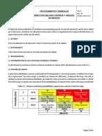 Pg-01 Direccion, Mejora Continua y Analisis de Riesgo